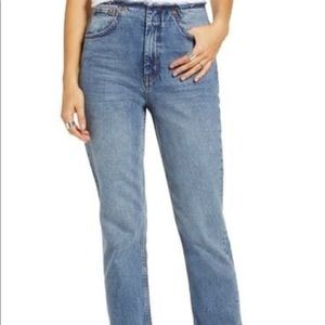 Topshop high-waisted Jeans